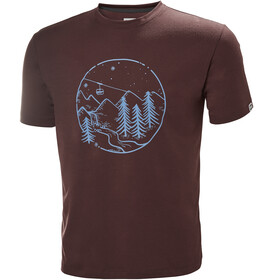 Helly Hansen Skog Graphic T-Shirt Herre andorra